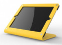 HECKLER DESIGN, WINDFALL C, BRIGHT YELLOW, SECURE POINT-OF-SALE STAND FOR IPAD 2, 3, 4, PIVOTTABLE AND PIVOTTACK SOLD SEPARATELY, HDWF1CYW