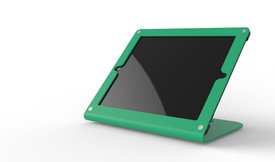 HECKLER DESIGN, WINDFALL C, EMERALD GREEN, SECURE POINT-OF-SALE STAND FOR IPAD 2, 3, 4,