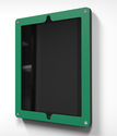 HECKLER DESIGN, HIGHSIGN FOR IPAD, SECURE MOUNTING FRAME FOR IPAD 2,3,4, EMERALD, HDHSL01EM