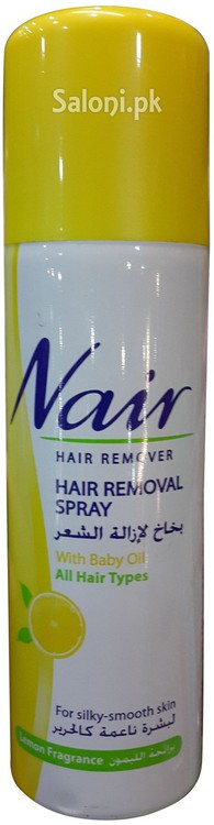 Saloni Product Review Nair Hair Removal Spray With Baby Oil For