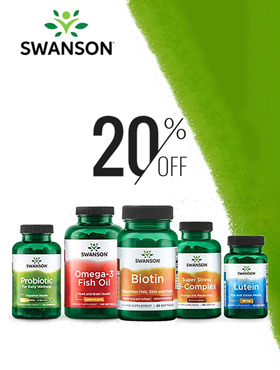 Image offering 20% off on Swanson products