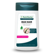Nutrifactor Max Hair Shampoo Herbal Shampoo with Keratin (for Dry and Damaged Hair) 200 ML buy online in pakistan