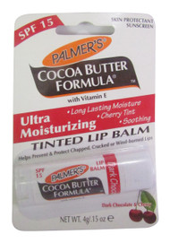 Palmers Dark Chocolate & Cherry Ultra Moisturizing Tinted Lip Balm (front)