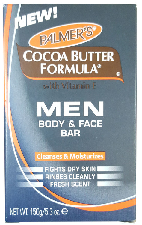 Palmer's Cocoa Butter Men Body and Face Bar Soap buy online in pakistan