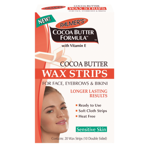 Palmer's Cocoa Butter Wax Strips for Face Eyebrows and Bikini