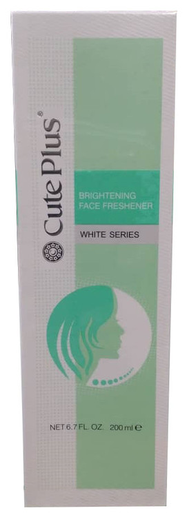 Cute Plus White Series Brightening Face Freshener 200 ML. Lowest price on Saloni.pk