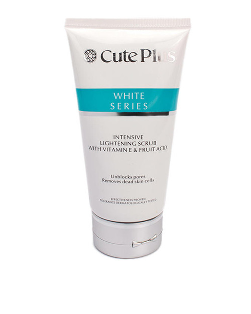 Cute Plus White Series Intensive Lightening Scrub With Vitamin & Fruit Acid
