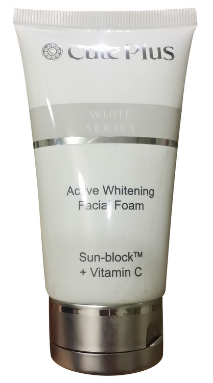 White Series Active Whitening Facial Foam