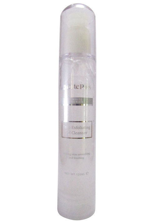 Cute Plus White Series Deep Exfoliating Gel Cleanser (Front)