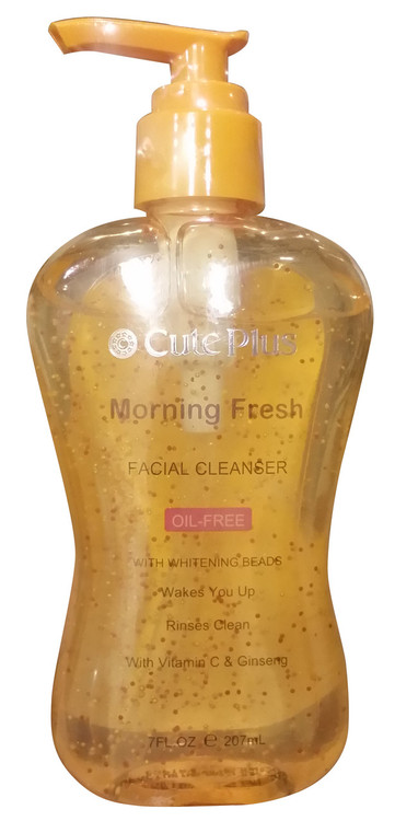 Cute Plus Morning Fresh Skin Brightening Facial Cleanser