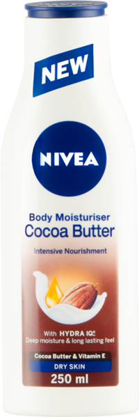 Nivea Cocoa Butter Body Lotion 250 ML buy online in pakistan best nivea body lotion in pakistan