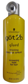 Schwarzkopf Got2b Glued Blasting Freeze Spray 340g