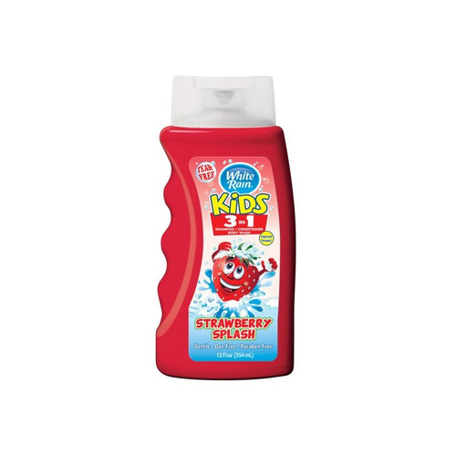 White Rain Strawberry Splash 3 in 1 Kids Shampoo 354 ML