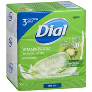 Dial Vitamin Boost Bar Soap (Pack of 3)