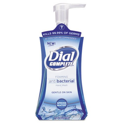 Dial Complete Foaming Spring Water Antibacterial Liquid Hand Wash