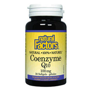 Natural Factors Co Enzyme Q 10 100 MG