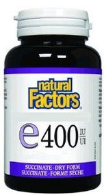 Natural Factors Calcium 600 with D3 400 IU