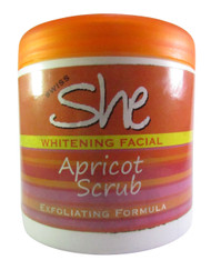 Swiss She Whitening Facial Apricot Scrub 500 Grams