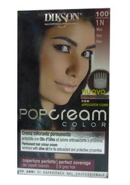 Dikson Pop Cream Color 1N Black 100