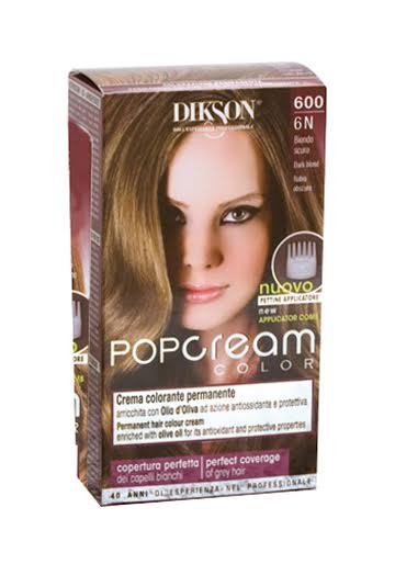 Dikson Pop Cream Color 6N Dark Blond 600