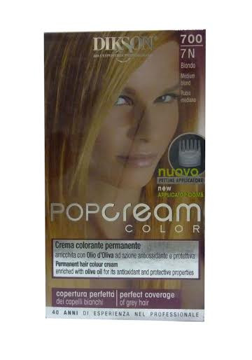Dikson Pop Cream Color 7N Medium Blond 700