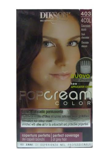 Dikson Pop Cream Color 4 Dark Chocolate 403
