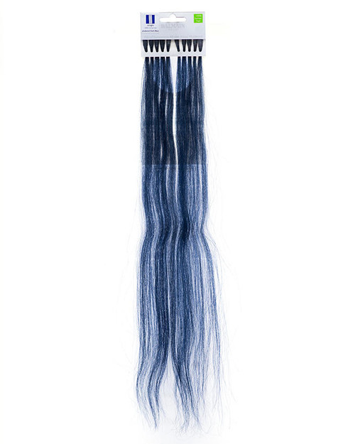 Balmain Ring Fill in Extensions Human Hair Dark Blue