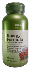 GNC Herbal Plus® Energy Formula 100 Capsules buy online product in pakistan