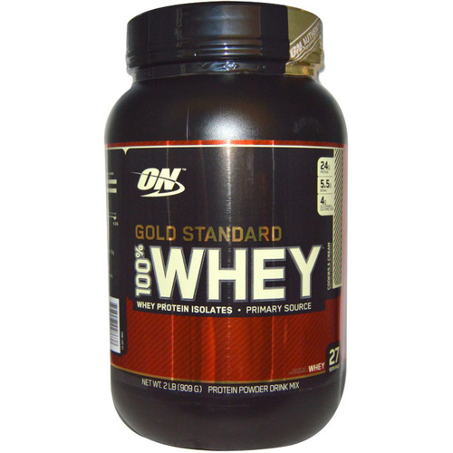 Optimum Nutrition 100% Whey Gold Standard (Front)