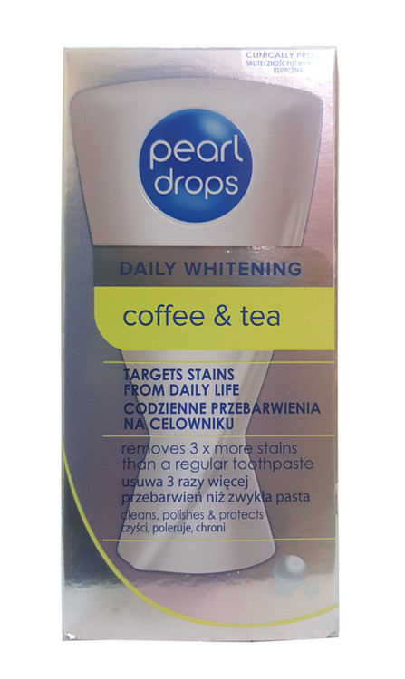Pearl Drops Daily Whitening Freshment Toothpolish 50ml Buy online in pakistan  on saloni.pk