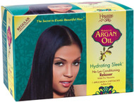 Hawaiian Silky Argan Oil Hydrating Sleek Relaxer Kit Box (1-APP)