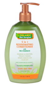 Organic Hair Energizer 5 in 1 Rejuvenating Conditioner With Pro Vitamin B5