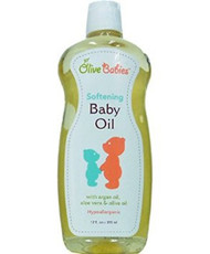 Olive Babies Softening Baby Oil