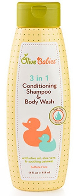 Olive Babies 3 In 1 Conditioning Shampoo And Body Wash Shop online in Pakistan