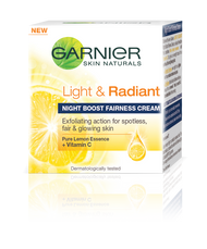 Garnier Skin Natural Light And Radiant Night Cream