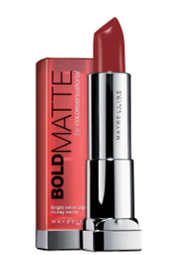 Maybelline Color Sensational Lipstick Bold Matte Red 6