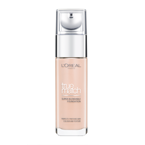 L'Oreal Paris True Match Foundation Liquid 1N Ivoire Ivory
