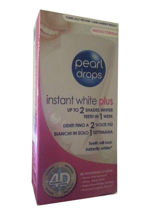 Pearl Drops Instant White Plus (Front)