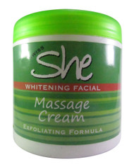 Swiss She Whitening Facial Massage Cream (Front)