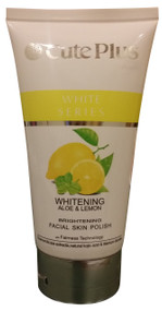 Cute Plus Whitening Aloe And Lemon Facial Skin Polish