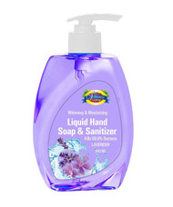 The Vitamin Company Hand Soap & Sanitizer Lavender