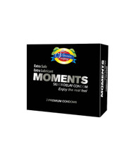 The Vitamin Company Moments Silver Delay Condom 12 Pack