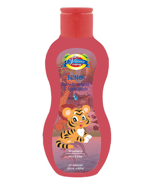 Baby Shampoo & Body Wash (Strawberry)