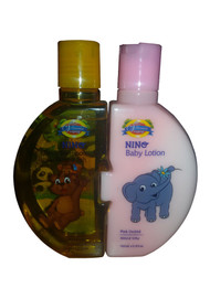 The Vitamin Company Baby Lotion Plus Baby Shampoo (Front)