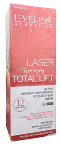 Eveline Laser Therapy Total Lift Eye & Eyelid Cream 20 ML. Buy online in pakistan