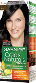 Garnier Color Naturals Hair Color Creme Black 1