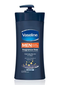 Vaseline Men Healing Moisture Fragrance Free 725 ML Buy Online In Pakistan Best Price Original Product