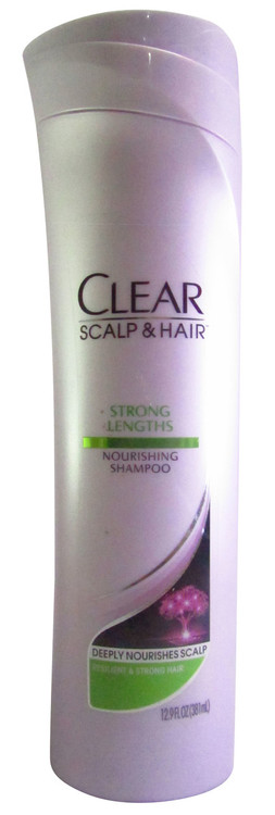 Clear Scalp & Hair Therapy Strong Lengths Nourishing Shampoo 381 ML