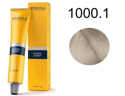 Indola Permanent Caring Hair Colour High Lifting Ash (1:2) 1000.1