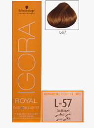 Schwarzkopf Igora Royal Fashion Light Hair Colour Gold Copper L-57